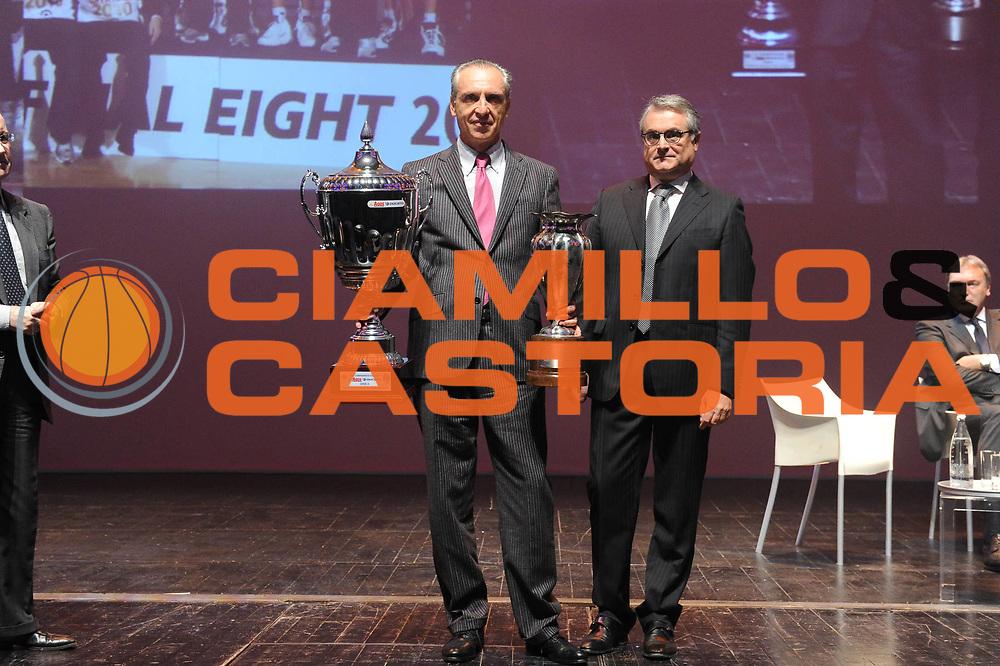 DESCRIZIONE : Bologna Arena del Sole Presentazione Campionato Lega A 2010-11 <br /> GIOCATORE : Ferdinando Minucci Valentino Renzi<br /> SQUADRA : <br /> EVENTO : Campionato Lega A 2010-2011 <br /> GARA : <br /> DATA : 11/10/2010<br /> CATEGORIA : Ritratto<br /> SPORT : Pallacanestro <br /> AUTORE : Agenzia Ciamillo-Castoria/GiulioCiamillo<br /> Galleria : Lega Basket A 2010-2011 <br /> Fotonotizia : Bologna Arena del Sole Presentazione Campionato Lega A 2010-11 <br /> Predefinita :