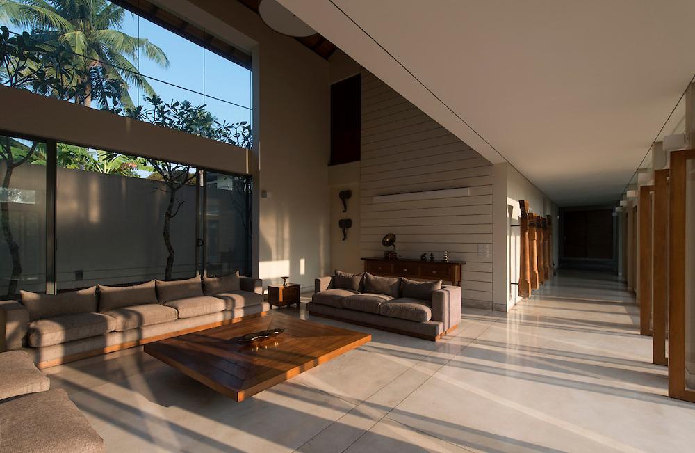 Siriwardena House. Mirihena.<br /> Architect: Philip Weeraratne and Don Thushar Jayamanne