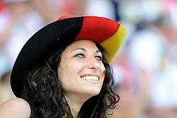10-06-2012 VOETBAL: UEFA EURO 2012 DAY 3: POLEN OEKRAINE<br /> UEFA Euro 2012 Group B Match between Germany and Portugal at the Arena Lviv, Lviv, Ukraine / Support Germany <br /> ***NETHERLANDS ONLY***<br /> ©2012-FotoHoogendoorn.nl