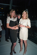 FIONA SANGSTER; CLARE MILFORD HAVEN, CARTIER CHELSEA FLOWER SHOW DINNER Dinner hosted by Cartier in celebration of the Chelsea Flower Show was held at Battersea Power Station. 22 May 2012