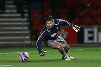 Southampton's Polish Goalkeeper Bartosz Bialkowski<br /> Southampton vs Derby County at St Mary's Stadium Southampton. Coca Cola Championship. 10/03/2009<br /> Credit Colorsport / Shaun Boggust
