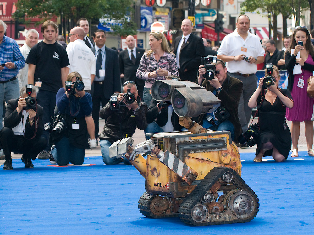 London July 13th UK Premiere of latest Walt Disney production Wall E in Leicester Squale, London  -  Sigourney Weaver