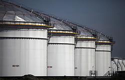 NETHERLANDS AMSTERDAM 11MAY11 - Oil strage tanks  at the port of Amsterdam, Netherlands...Photo by Jiri Rezac