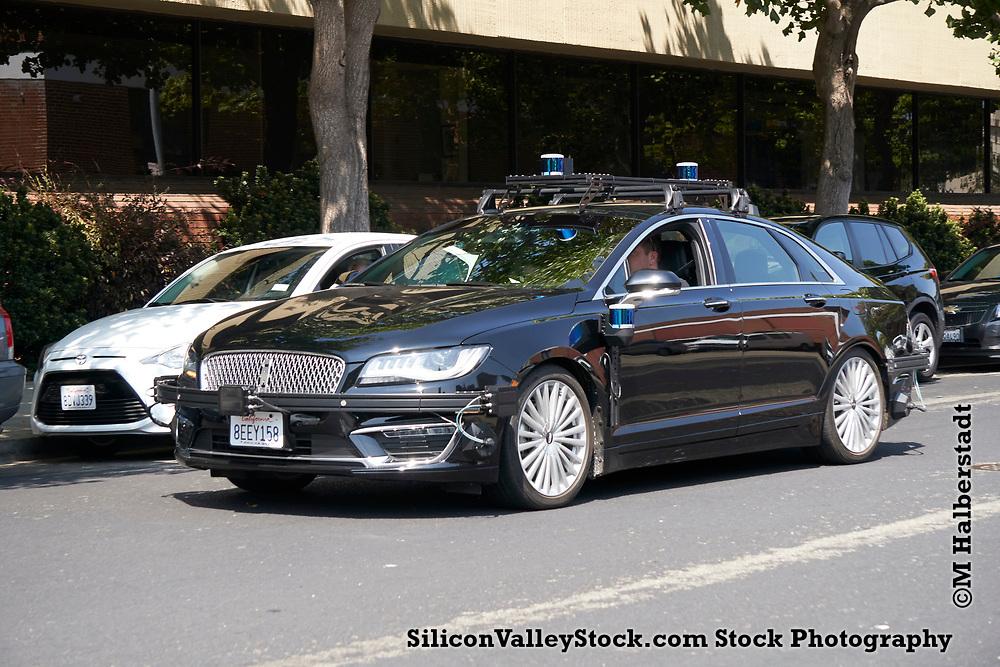 Zoox Self Driving Lincoln MK Z