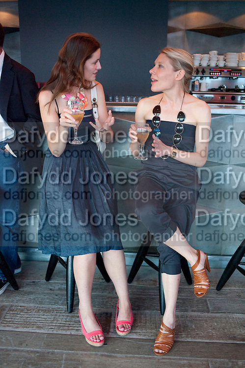 REBECCA WILSON; EMILY KING, Dinner hosted by Julia Peyton-Jones and Hans Obrist for the Council of the Serpentine to celebrate: Jeff Koons, Popeye Series. Paramount Club, Paramount Centre Point. London. 30 June 2009