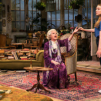 The Chalk Garden by Enid Bagnold;<br /> Directed by Alan Strachan;<br /> Penelope Keith (as Mrs St Maugham);<br /> Emma Curtis (as Laurel);<br /> Chichester Festival Theatre, Chichester;<br /> 30 May 2018.<br /> © Pete Jones <br /> pete@pjproductions.co.uk