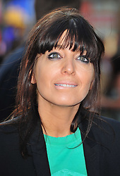 "© Licensed to London News Pictures. 30/05/2012. Watford, England. Claudia Winkleman attends the world premiere of ""ILL MANNERS"" featuring Plan B at The Empire Liecester Square London   Photo credit : ALAN ROXBOROUGH/LNP"