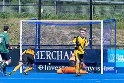 Surbiton 4th XI v Bebington 2nd XI - Men's T4 Final, Lee Valley Hockey & Tennis Centre, London, UK on 07 May 2018. Photo: Simon Parker