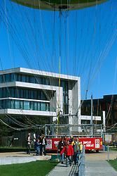 GERMANY BERLIN APR04 - Tethered balloon flight from Potsdamer Platz in Berlin.<br /> <br /> <br /> <br /> jre/Photo by Jiri Rezac <br /> <br /> <br /> <br /> © Jiri Rezac 2004