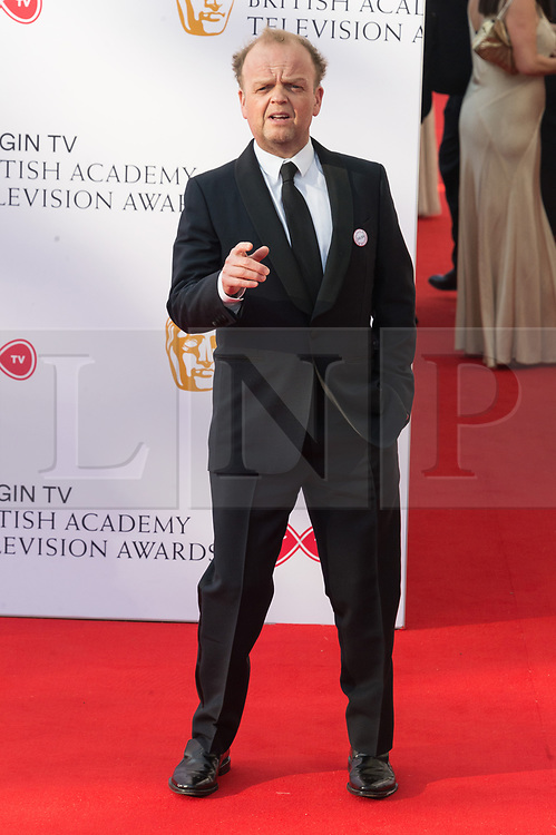 © Licensed to London News Pictures. 13/05/2018. London, UK. TOBY JONES arrives for the Virgin TV British Academy (BAFTA) Television Awards. Photo credit: Ray Tang/LNP