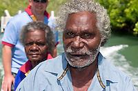 Local aboriginal elders and guides for Aurukun Wetland Charters Kenlock and Hersey Yunkaporta.