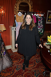 MARY KATRANZOU at a lunch hosted by Mary Katranzou to celebrate her LFW AW 2016 collection at Mark's Club, London on 23rd February 2016.