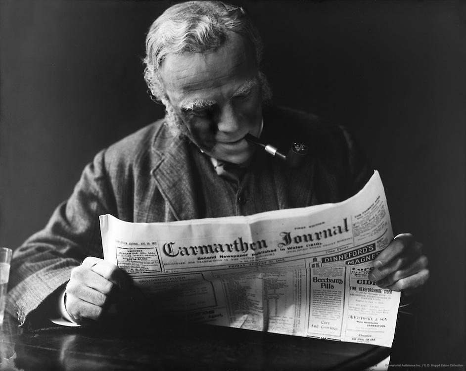 Edmund Gwenn, Wales, 1912