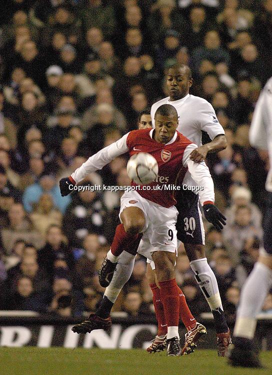 JULIO BAPTISTA, (BRA) Arsenal, Tottenham-Arsenal, Carling Cup 1st Leg Semi Final 24/1/2007