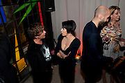Julian Macdonald; Sadie Frost, Rodial Beautiful Awards. Sanderson Hotel. 1 February 2011. -DO NOT ARCHIVE-© Copyright Photograph by Dafydd Jones. 248 Clapham Rd. London SW9 0PZ. Tel 0207 820 0771. www.dafjones.com.