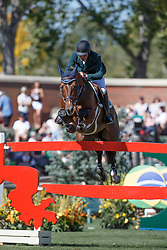 Amaral Felipe, (BRA), Premiere Carthoes Bz<br /> BMO Nations Cup<br /> Spruce Meadows Masters - Calgary 2015<br /> © Hippo Foto - Dirk Caremans<br /> 12/09/15