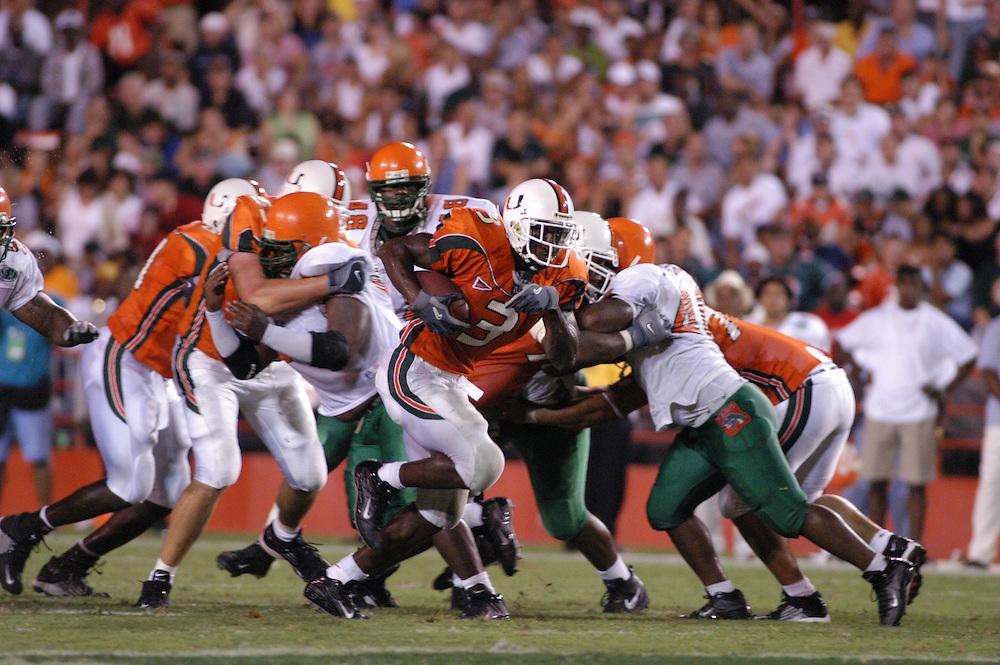 2002 Miami Hurricanes Football vs Florida A&M