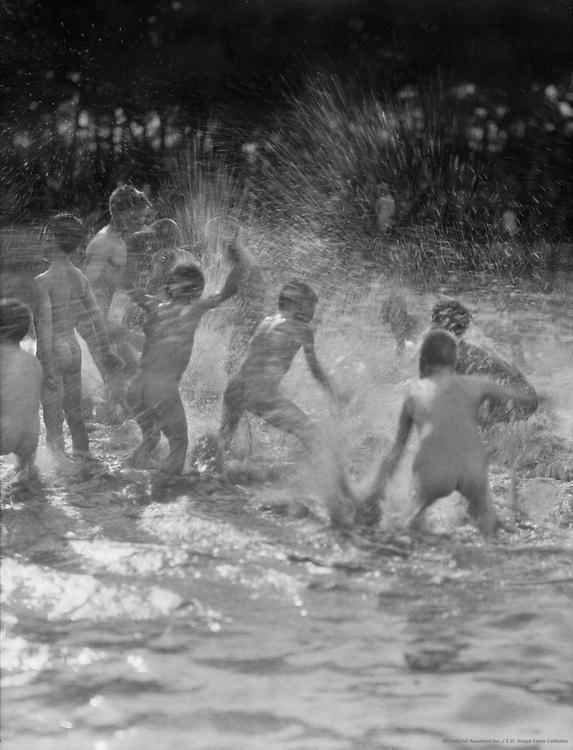 Children Bathing, England, 1922