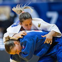 POGACNIK Anka of Slovenia competes in the elimination round on July 27, 2019 at the IJF World Tour, Zagreb Grand Prix 2019, in Dom Sportova, Zagreb, Croatia. Photo by SPS / Sportida