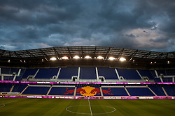 Oct 20, 2011; Harrison, NJ, USA;  General view of Red Bull Arena before the game between the New York Red Bulls and the Philadelphia Union. Mandatory Credit: Jason O. Watson-US PRESSWIRE