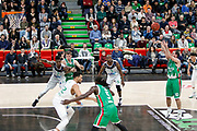 Quino Colom of Unics Kazan during the 2018 EuroCup, Group H, Basketball match between ASVEL Villeurbanne and Unics Kazan on January 31, 2018 at Astroballe in Villeurbanne, France - Photo Romain Biard / ISports / ProSportsImages / DPPI