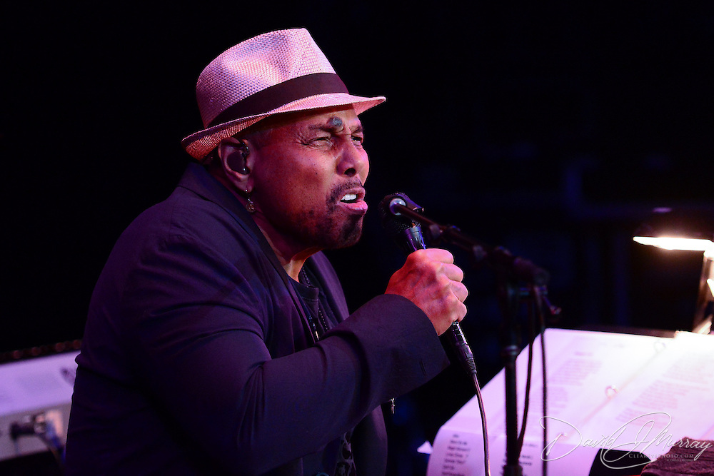 Aaron Neville performs at The Music Hall in Portsmouth, NH. September 18, 2014
