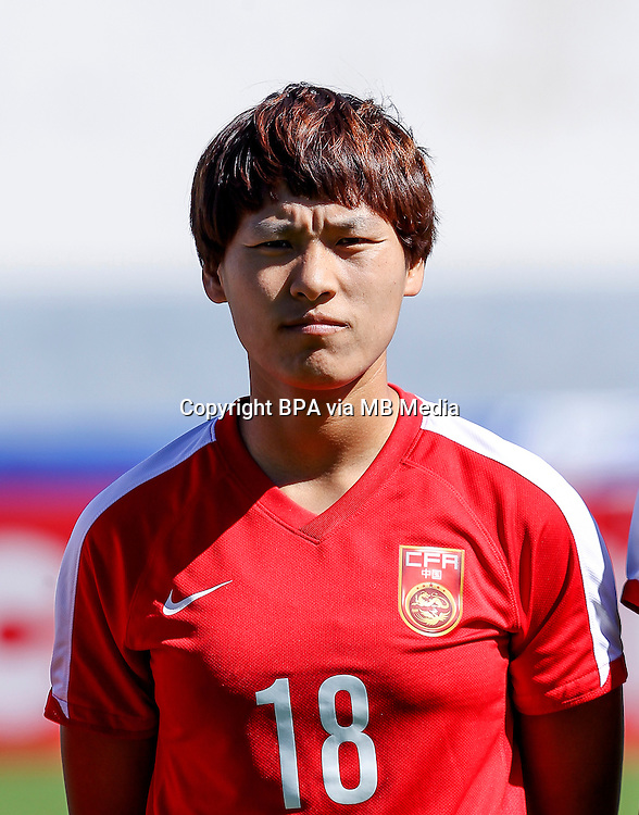 Fifa Womans World Cup Canada 2015 - Preview //<br /> Algarve Cup 2015 Tournament ( Vila Real San Antonio Sport Complex - Portugal ) - <br /> Germany vs China 2-0  -  Han Peng of China