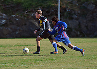 NCAA Men's Soccer: Blue Hose defeat Keydets 2-1 in men's soccer.