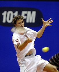 13-12-2006 TENNIS: SKY RADIO TENNIS MASTER: ROTTERDAM<br /> Robin Haase<br /> ©2006-WWW.FOTOHOOGENDOORN.NL