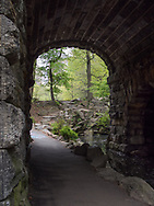 View from under Glen Span towards the Pool in Central Park