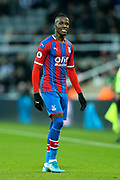 Wilfried Zaha (#11) of Crystal Palace during the Premier League match between Newcastle United and Crystal Palace at St. James's Park, Newcastle, England on 21 December 2019.