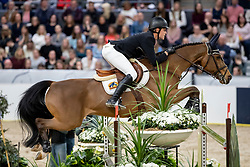 GULLIKSEN Johan-Sebastian (NOR), Edesa S Banjan <br /> Göteborg - Gothenburg Horse Show 2019 <br /> Gothenburg Trophy presented by VOLVO<br /> Int. jumping competition with jump-off (1.55 m)<br /> Longines FEI Jumping World Cup™ Final and FEI Dressage World Cup™ Final<br /> 06. April 2019<br /> © www.sportfotos-lafrentz.de/Stefan Lafrentz