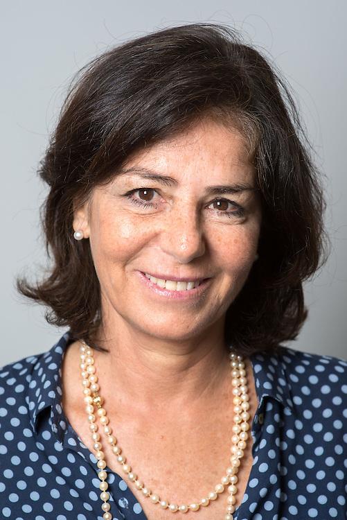 Professor of Economics, Ms. Lucrezia Reichlin, photographed at the London Business School<br /> in Regent's Park, London, UK.