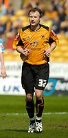 Photo: Ed Godden.<br />Wolverhampton Wanderers v Brighton & Hove Albion. Coca Cola Championship. 22/04/2006. Wolves player, Tomasz Frankowski.