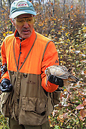 Bob Ciulla with a recently bagged woodcock.