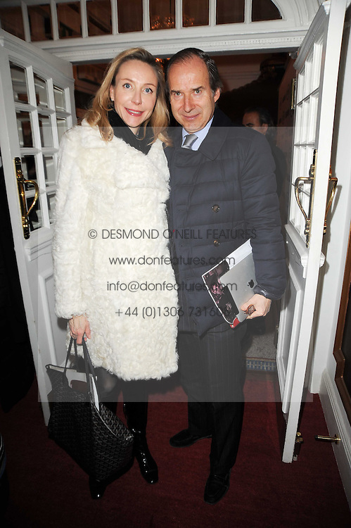 SIMON DE PURY and his wife MICHAELA NEUMEISTER  at an In-House screening of 'Sweet Smell of Success' hosted by Clive Owen presented by Tod's in association with Amend held at The Electric Cinema, 191 Portobello Road, London W11 on 29th November 2010.
