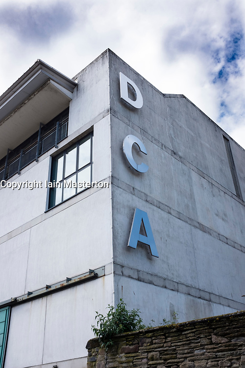 Dundee Contemporary Arts centre (DCA) in Dundee, Scotland, United Kingdom