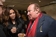 MYLEENE KLASS; ANDREW NEIL, Hennessy Gold Cup, The Racecourse Newbury. 30 November 2013.