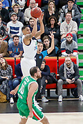 AJ Slaughter of ASVEL Lyon during the 2018 EuroCup, Group H, Basketball match between ASVEL Villeurbanne and Unics Kazan on January 31, 2018 at Astroballe in Villeurbanne, France - Photo Romain Biard / ISports / ProSportsImages / DPPI