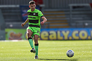 Forest Green Rovers Paul Digby(20) during the EFL Sky Bet League 2 match between Exeter City and Forest Green Rovers at St James' Park, Exeter, England on 27 October 2018.