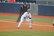 Ole Miss' Tanner Mathis (12) vs. UT-Martin at Oxford-University Stadium in Oxford, Miss. on Wednesday, February 20, 2013. Ole Miss won 15-2 to improve to 4-0.