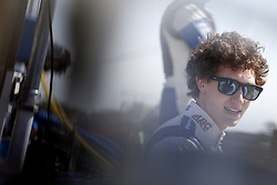 April 21, 2018 - Birmingham, Alabama, United States of America - MATHEUS LEIST (4) of Brazil gets suited up and strapped into his machine to take to the track for final practice for the Honda Grand Prix of Alabama at Barber Motorsports Park in Birmingham, Alabama. (Credit Image: © Justin R. Noe Asp Inc/ASP via ZUMA Wire)