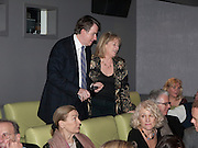 LORD MANDELSON; HANNAH ROTHSCHILD, Special preview screening of the Ghost. Introduced by the book's author Robert Harris. The Courthouse Hotel Great Marlborough St. London. 30 March 2010.
