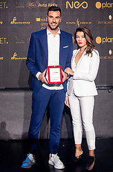 Amir Dervisevic of Maribor during SPINS XI Nogometna Gala 2019 event when presented best football players of Prva liga Telekom Slovenije in season 2018/19, on May 19, 2019 in Slovene National Theatre Opera and Ballet Ljubljana, Slovenia. Photo by Vid Ponikvar / Sportida