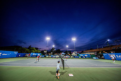 Court C during Day 6 at ATP Challenger Zavarovalnica Sava Slovenia Open 2018, on August 8, 2018 in Sports centre, Portoroz/Portorose, Slovenia. Photo by Vid Ponikvar / Sportida