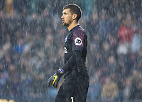 Football - 2018 / 2019 Emirates FA Cup - Sixth Round, Quarter Final : Millwall vs. Brighton<br /> <br /> Matthew Ryan (Brighton & Hove Albion) during a second half hail stone storm at The Den.<br /> <br /> COLORSPORT/DANIEL BEARHAM