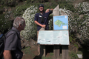 Welcome talk from assistant warden Skomer Island, Pembrokeshire, Wales