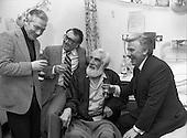 1981 - Noel Purcell Celebrates His 81st Birthday.
