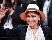 Anna Karina at the Opening Ceremony and Everybody Knows (Todos Lo Saben) gala screening at the 71st Cannes Film Festival Tuesday 8th May 2018, Cannes, France. Photo credit: Doreen Kennedy