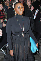 Laura Mvula, Elle Style Awards 2014, One Embankment, London UK, 18 February 2014, Photo by Brett D. Cove